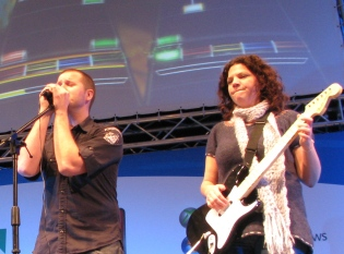 """Performing"" at CeBIT"