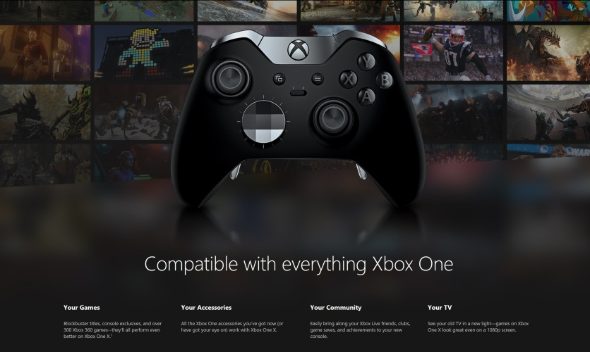 Web copy for Xbox.com
