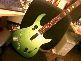 My custom Guitar Hero axe