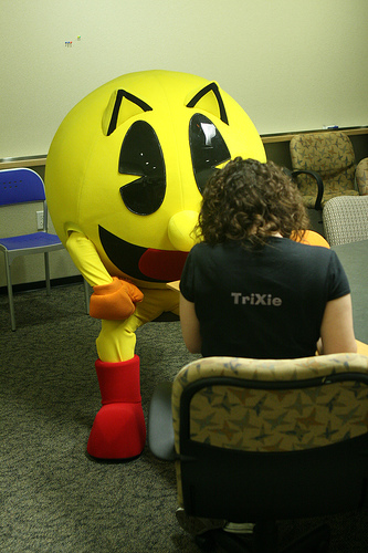 Interviewing Pac Man